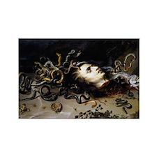 Head of Medusa Rectangle Magnet
