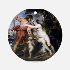 Venus and Adonis Ornament (Round)