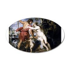 Venus and Adonis 22x14 Oval Wall Peel
