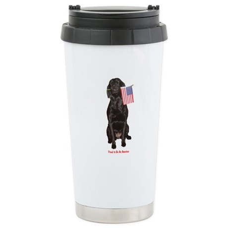 proud american Stainless Steel Travel Mug