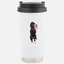 proud american Travel Mug