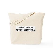 With Cecilia Tote Bag