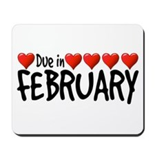 Due in February - Hearts Mousepad