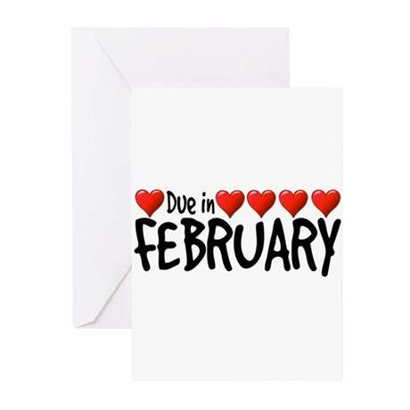 Due in February - Hearts Greeting Cards (Pk of 20)