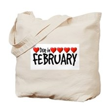 Due in February - Hearts Tote Bag