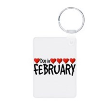Due in February - Hearts Keychains