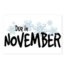Due in November - Snowflakes Postcards (Package of