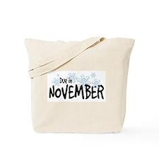Due in November - Snowflakes Tote Bag