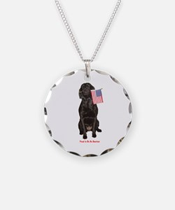 proud american Necklace