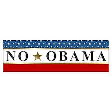 NO OBAMA 2012 Bumper Sticker