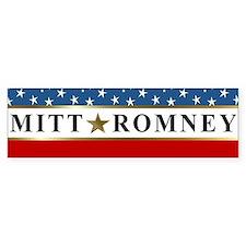 Mitt Romney 2012 Stars Bumper Sticker