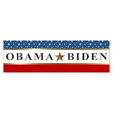 Obama Biden Star 2012 Bumper Sticker