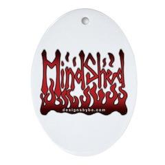 MindShed Oval Ornament