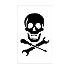 Mechanic Pirate Decal