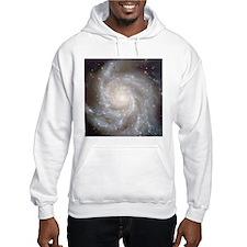 M101 Pinwheel Galaxy Hooded Astronomy Sweatshirt