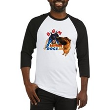 Bum Sniffing Dogs Baseball Jersey