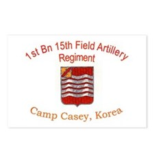 1st Bn 15th Field Artillery Postcards (Package of