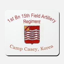 1st Bn 15th Field Artillery Mousepad