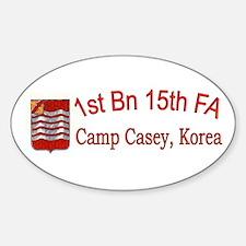 1st Bn 15th Field Artillery Decal