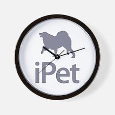 Iceland Sheepdog Wall Clock