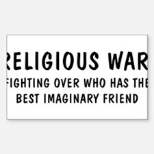 Religious War Decal