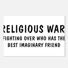 Religious War Postcards (Package of 8)