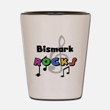 Bismark Rocks Shot Glass