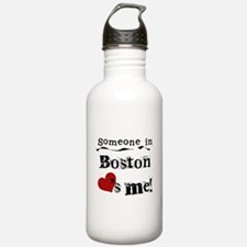 Boston Loves Me Water Bottle