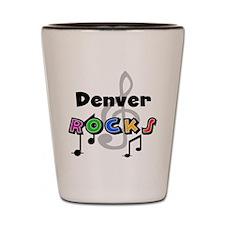 Denver Rocks Shot Glass