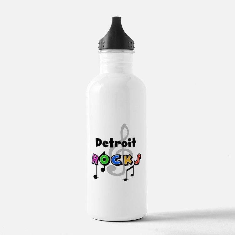 Detroit Rocks Water Bottle