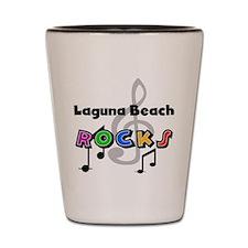 Laguna Beach Rocks Shot Glass