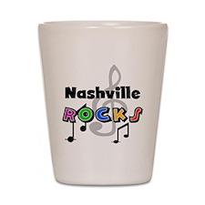 Nashville Rocks Shot Glass