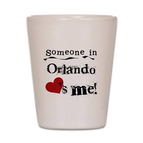 Orlando Loves Me Shot Glass