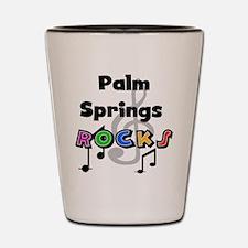 Palm Springs Rocks Shot Glass