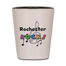 Rochester Rocks Shot Glass