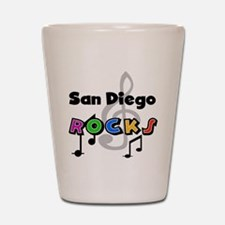 San Diego Rocks Shot Glass