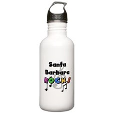 Santa Barbara Rocks Water Bottle
