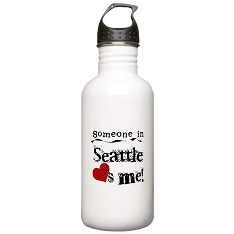 Seattle Loves Me Stainless Water Bottle 1.0L