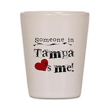 Tampa Loves Me Shot Glass