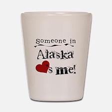 Alaska Loves Me Shot Glass