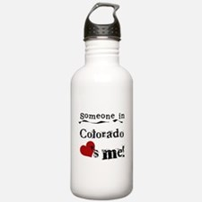 Someone in Colorado Water Bottle
