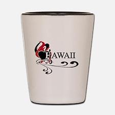 Heart Hawaii Shot Glass