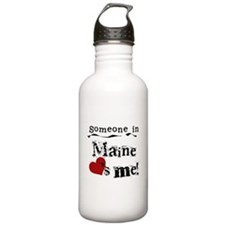 Someone in Maine Water Bottle