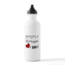 Someone in Michigan Water Bottle