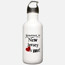 Someone in New Jersey Water Bottle
