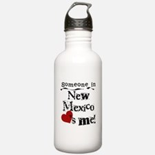 New Mexico Loves Me Water Bottle