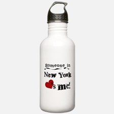 Someone in New York Water Bottle
