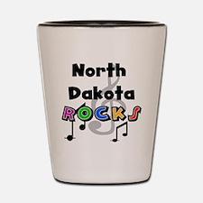 North Dakota Rocks Shot Glass