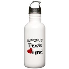 Someone in Texas Water Bottle
