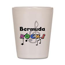 Bermuda Rocks Shot Glass